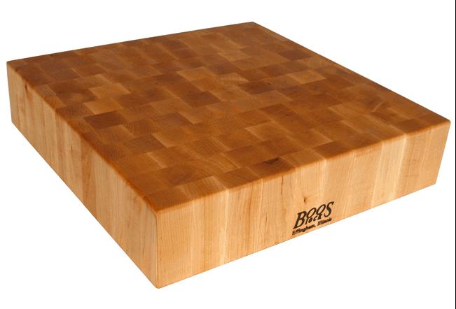 Boos end-grain chopping block