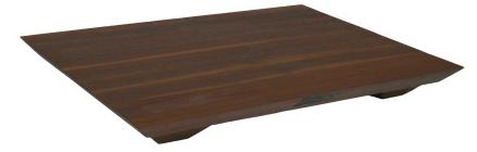 John Boos Fusion Cutting Board -  Walnut