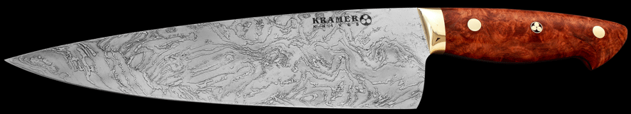 Kramer chef_damascus-burl