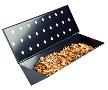 V-shaped smoker box