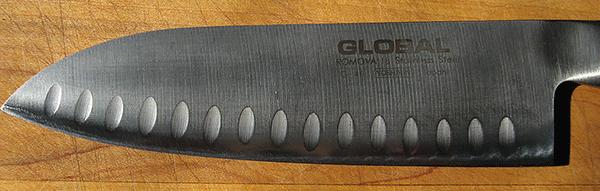Global santoku blade