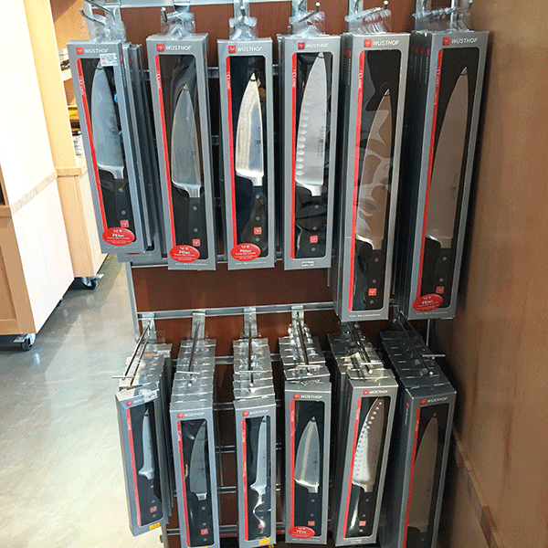 wusthof knives_rack chef knives