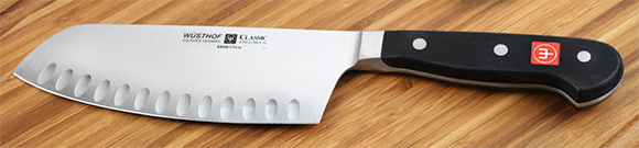 Wusthof Classic chai dao (hollow edge), 7-inch
