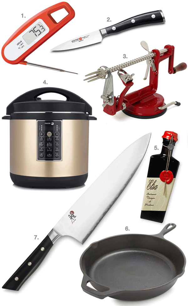 gift ideas for gourmet cook_2016