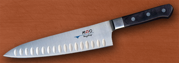 MAC MTH-80 – Professional Series 8 Chef Knife with Dimples