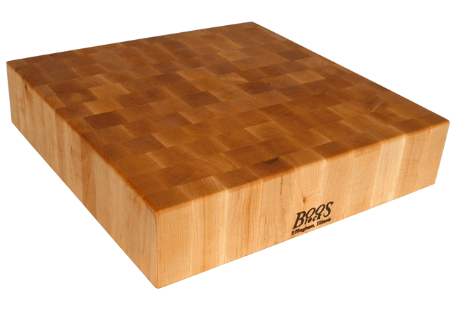 Boos end-grain chopping block
