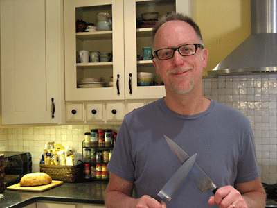 kitchenknife guru w/two knives