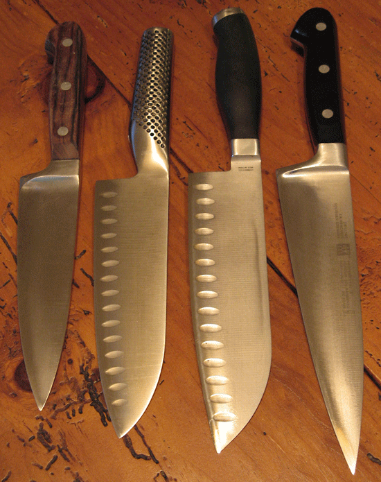 chef-santoku knife sizes
