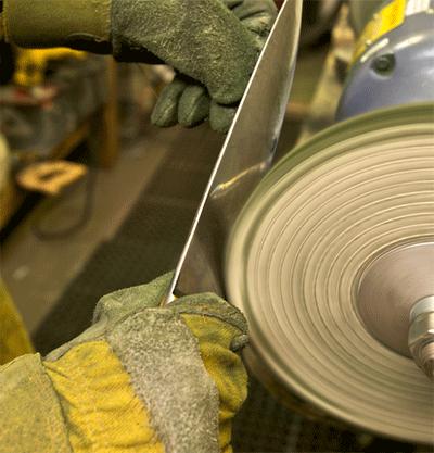 professional knife sharpening wheel at Seattle Knife