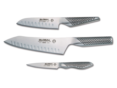 global 3-piece knife set
