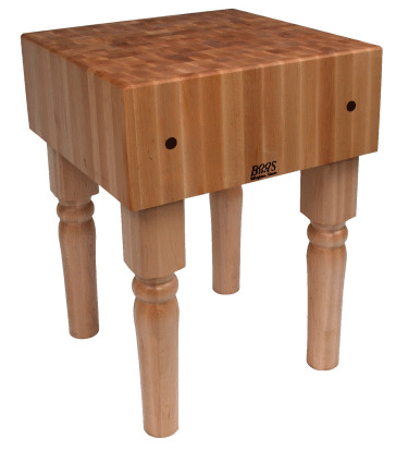 John Boos ButcherBlck Table_18x18x36