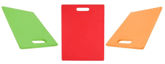 Dexas cutting boards_green-red-orgn_11x14.5