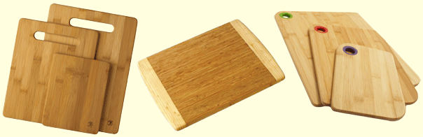 totally bamboo cutting boards_3piece-Kauai-Silicone