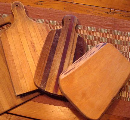 wooden cutting boardsc