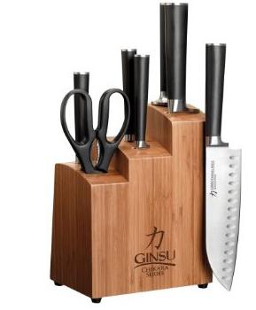 Ginsu Chikara 8-piece set