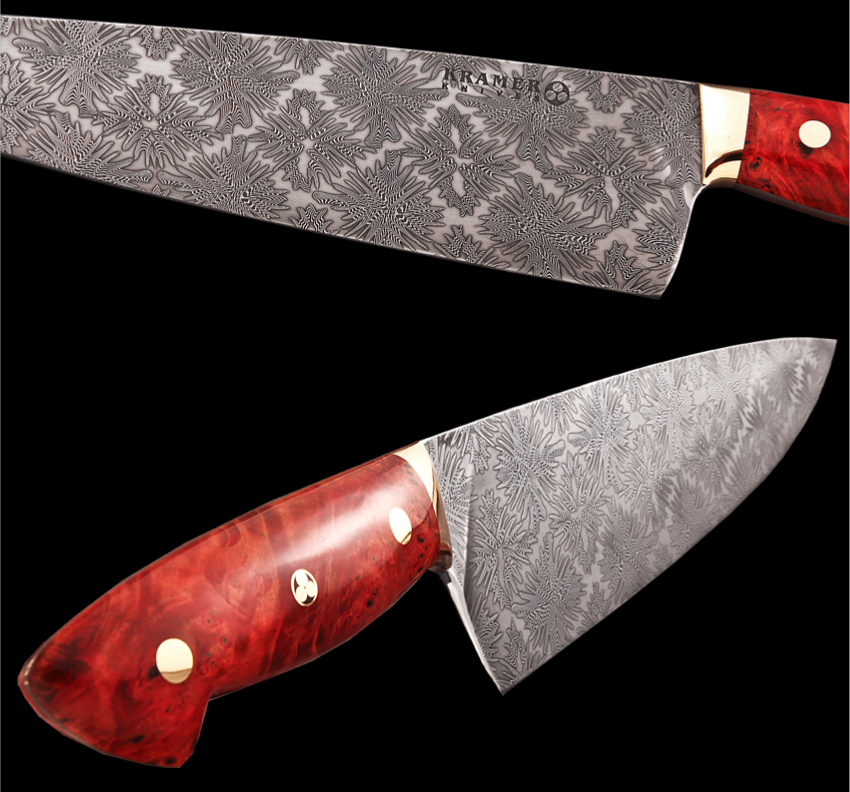 Custom Made Kitchen Knives: Kramer Knives — Auction Time