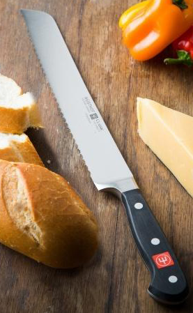 Wusthof Classic double-serrated bread knife