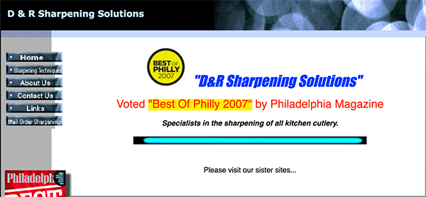 D&R Knife Sharpening