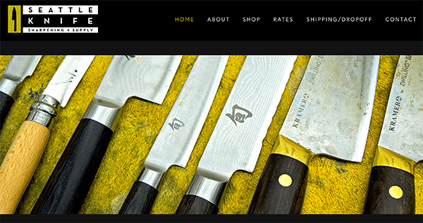 Seattle knives knife sharpening