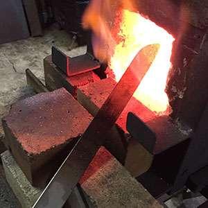 bladesmithing forge
